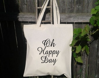 50 Wedding Welcome Bags-Personalized Wedding Tote - Oh Happy Day