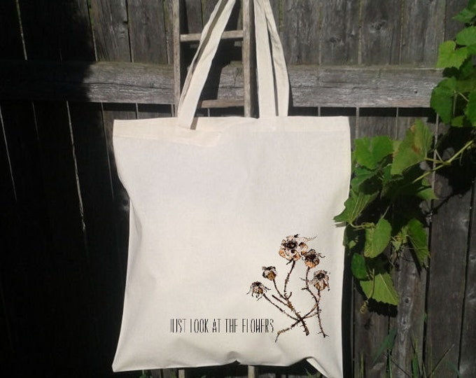Zombie Tote, Dead, Walking, Just Look At The Flowers