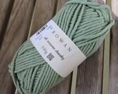 BULKY Weight Yarn - Rowan All Seasons Chunky - Cotton Blend -  Samphire #611 - 100g - 93 yards