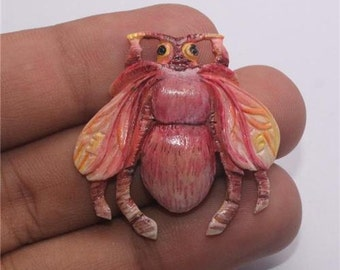 Creature Critter Focal Bead Pendant Jewelry with Soul