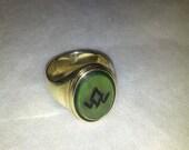 Twin Peaks Fire Walk With Me Black Lodge Ring Perfect Replica