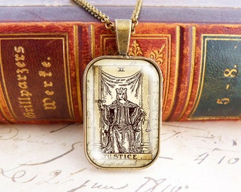 Justice - Tarot Necklace
