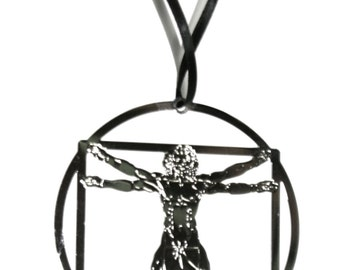 Vitruvian Man Ornament
