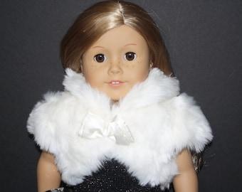 Girl 18 Inch Doll Formal Soft Shrug