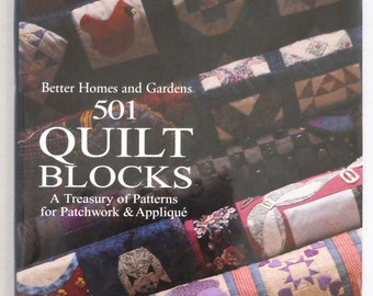 501 Qulit Blocks — A Treasury Of Patterns For Patchwork & Applique