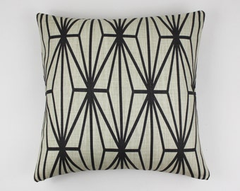 Kelly Wearstler Katana Pillows (Shown in Ivory/Ebony-comes in other colors)