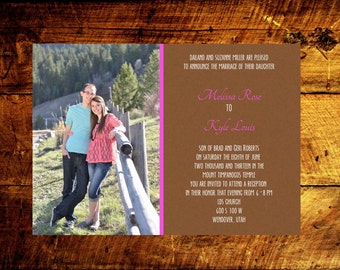 photo wedding invitations, wedding announcement, modern wedding invitations, wedding invitations, wedding invites, rustic wedding invtations