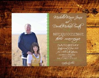 wedding invitations, wedding invites, rustic wedding invitations, unique wedding invitations, printable wedding invitations