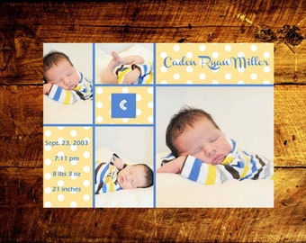 printable baby announcements, birth announcements, baby announcements, baby boy announcements, baby girl announcements