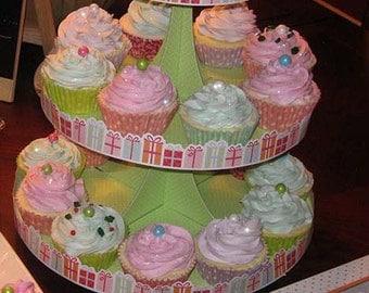 Luscious Moisturizing Cupcake Bath Bombs Set in a Box with Almond oil, Vitamin E, Moisturizing Cupcake Bath Bomb Natural