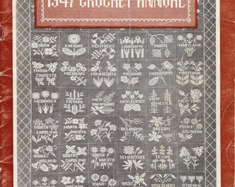 1947 Woman's Day Crochet Annual 105 Crochet Designs