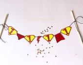 Custom SUPERMAN Logo Cake Bunting - Your Message - DIY Digital Printable PDF