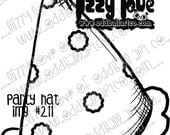 Digi Stamp Digital Instant Download Oddball Stamps Elements ~ Party Hat Image No. 211 by Lizzy Love
