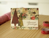 Elegant DIY Christmas Card Making Kit