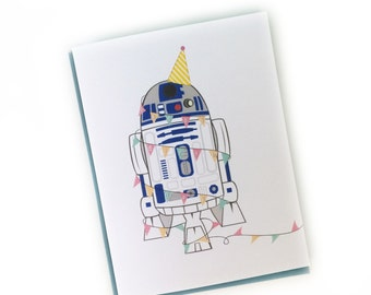 R2D2 Birthday Card