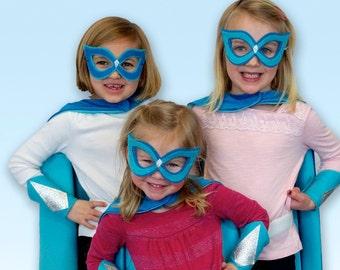 Glitter Princess Cape Set - kids