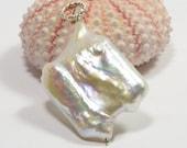 Natural Pearl Hight Luster Luxury AAA Birthstone Jewelry Irregular Pearl.