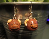 Polymer clay Bantha Inspired Earrings