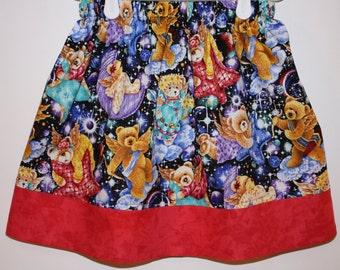 Clearance Angel Bears Skirt  Size 2 - 7