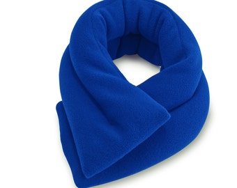 Royal Blue Microwave Hot Cold Neck Shouler Wrap, 5x26, Heating Pad, Neck Shoulder Back Moist Heat,  Anti-pil Fleece, Spot Clean