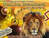 SunLion Braucherei Formula Wax Melts for Magick, Prayer, Spells or Ritual