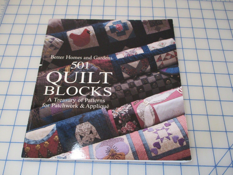 Better homes and gardens 501 quilt blocks patchwork by lilandlou for Better homes and gardens quilt