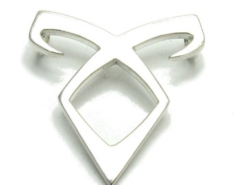 PE000968 Sterling silver pendant  solid 925