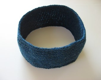 men's wool ski headband large