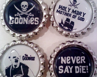 Goonies Bottlecap Magnets