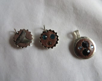 Round Clay Charms - All Three