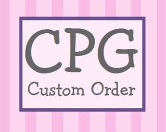 Custom Listing for bbaker