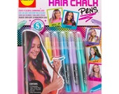 Metallic Hair Chalk Pens - 5 Colors - Washable Hair Chalk - Kids Crafts  (413037)