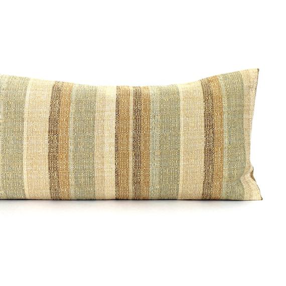 Lumbar Pillow Gold Pillow Oblong Throw Pillow by couchdwellers