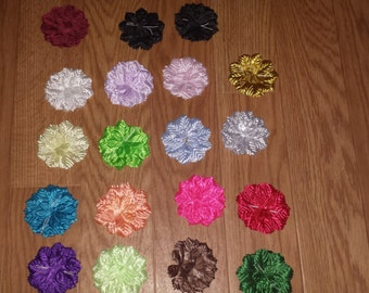 100 carnation flower  capia base for  capias corsages and crafts