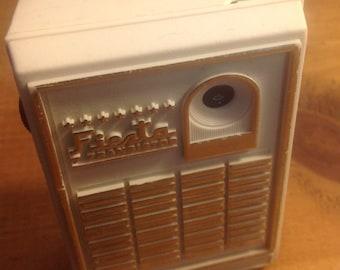 Transistor Radio 1960s Vintage Fiesta AM