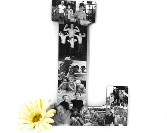 Father's Day Photo Gift, Mother's Day Photo Gift, Photo Collage, Unique Photo Gift, Personalized Photo Collage Gift for Dads and Moms