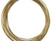 14K Gold Filled Wire, 28 Gauge, 5 feet, Dead Soft, Wire Wrapping, Destash