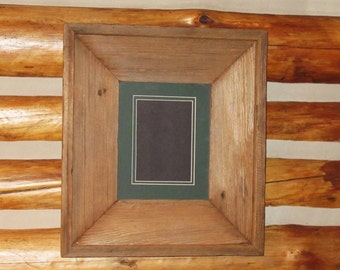 "Reclaimed Barn Wood Frame 8""X10"""