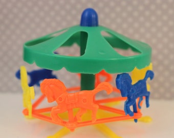 Retro Carousel Merry Go Round Cake Topper / Decoration /