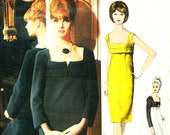 Vogue Paris Original  1311 1960s Christian Dior dress Bust 32