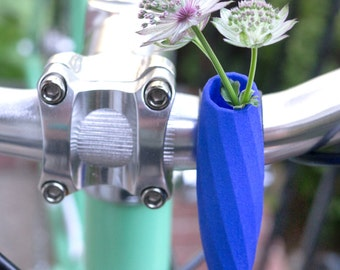 Twisted Handlebar Vase in Blue: For Your Bike