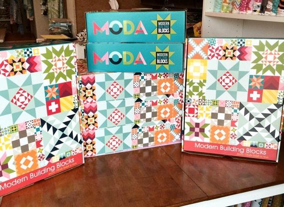 Moda Building Blocks Quilt Kit - 101.0KB