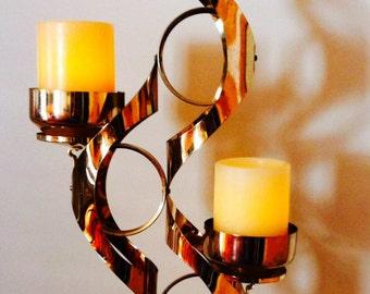Decorative Shiny Gold Candle Holder7