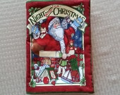 Twas the Night Before Christmas Fabric Book