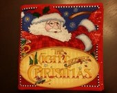 The Night Before Christmas Fabric Book