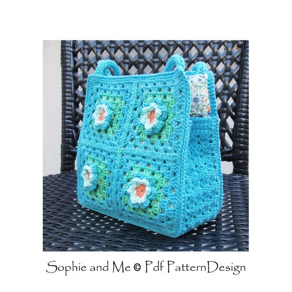 Granny Square Tote Bag : All Bags & Purses