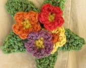 Crochet a Primrose Brooch Kit