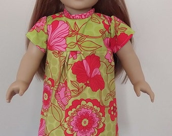 American Girl Doll Flower Nightgown