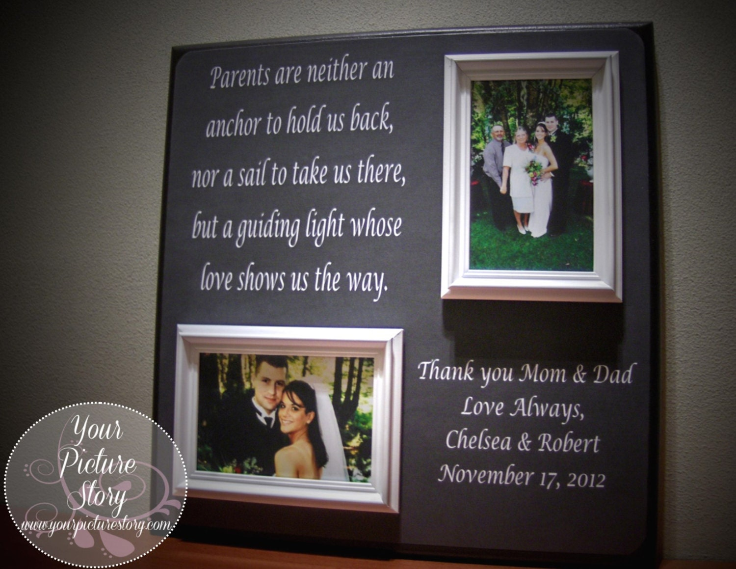 Wedding Gift The Perfect Thank You For By YourPictureStory