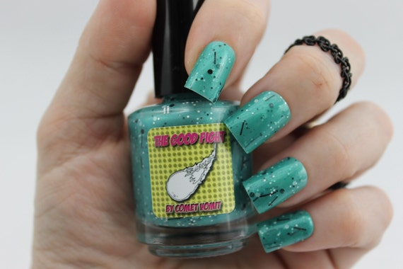 From the Depths of Atlantis Nail Polish in The Good Fight collection by Comet Vomit